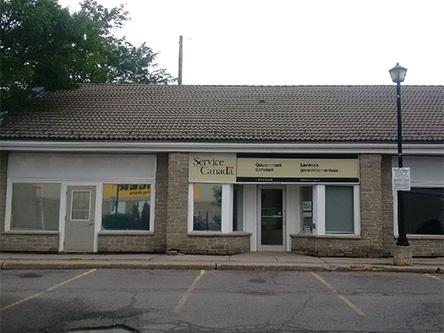 Bureaux de service canada près de ottawa